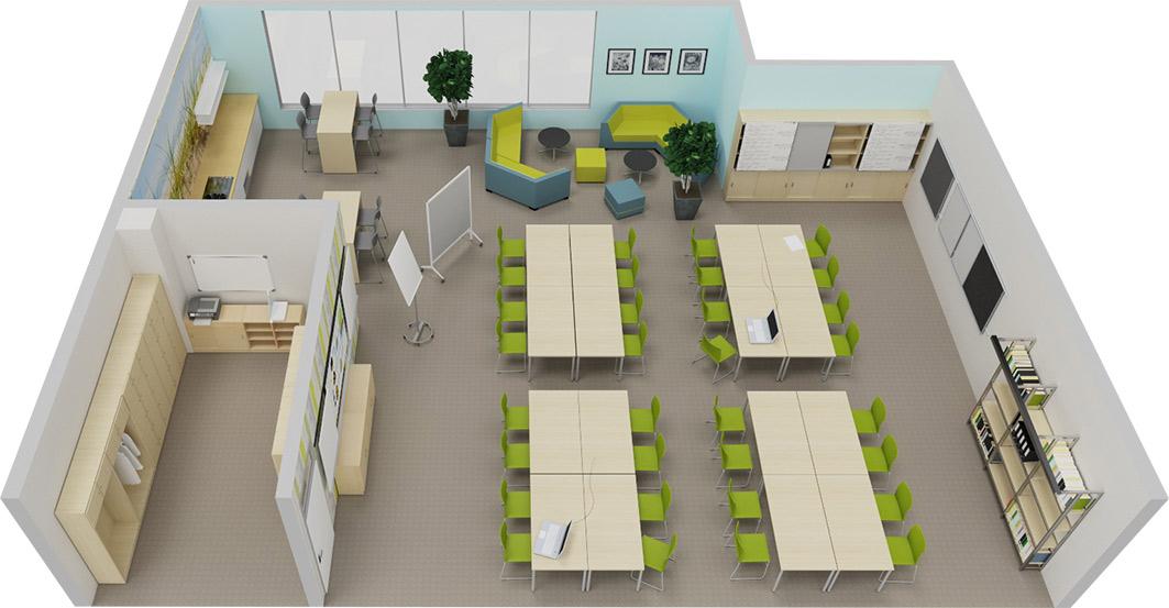 Verwaltungsräume Und Lehrerzimmer Projectde Raumkonzepte Und